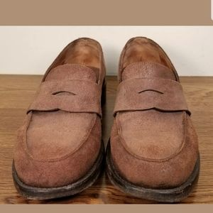 JOHN VARVATOS MEN'S SUEDE/LEATHER LOAFERS SIZE 11